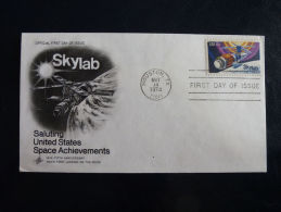 FDC Skylab 1974 - Timbres