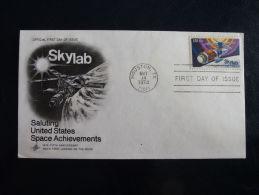 FDC Skylab 1974 - Postzegels