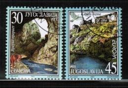 CEPT 2001 YU MI 3031-32 USED YUGOSLAVIA - Europa-CEPT