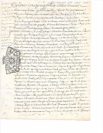 CHALONS   1718  -   8 Sols   PARCHEMIN   - Acquêt - Gebührenstempel, Impoststempel