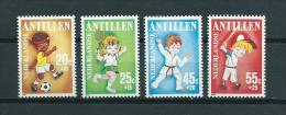 1986 Netherlands Antilles Complete Set Child Welfare,kinderzegels MNH/Postfris/Neuf Sans Charniere - Curaçao, Antilles Neérlandaises, Aruba