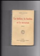 BACHELIN LE BELIER LA BREBIS ET LE MOUTON - 1901-1940