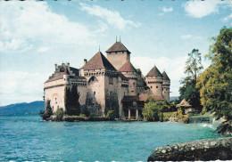 Suiza--Vaud--Lac Leman--Chateau De Chillon - Castillos