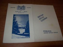 Daily Menu - Slovenia, Hotel Grand, Bled - Sonstige