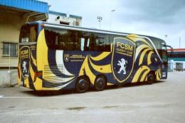 Sochaux (25) Bus Du Football Club Sochaux-Montbeliard - Buses & Coaches