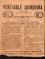 Emballage (vide) VERITABLE QUINQUINA Du Dr Romeyer (PPP2652) - Alimentaire