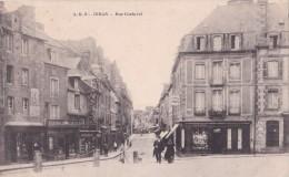 Carte 1910 DINAN / RUE COCHEREL (pharmacie,papeterie) - Dinan