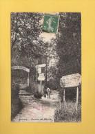 * CPA..dépt 95..SANNOIS  :  Chemin Des Moulins  : Voir Les 2 Scans - Sannois