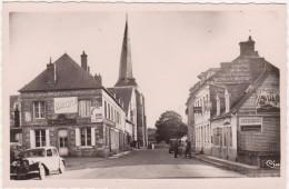 D.76- Cp Photo- Offranville- Rue De L'église  (non Voyagée) - Offranville