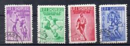 ALBANIE  Timbres De 1959   ( Ref 2442 )  Sport - Albanien