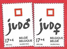 844 ~~ 1997 - BELGIQUE  N°  2703 / 04**  Neufs - Belgique