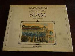 Book - Postcards Of Old Siam - Royalty Bangkok People Rural Scenes Elephants - 96 Pages - Thaïlande - Livres
