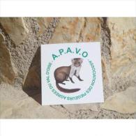 """Superbe Autocollant """"A.P.AV.O Association Des Piegeurs Agrées Du Val D'Oise"""" - Stickers"""