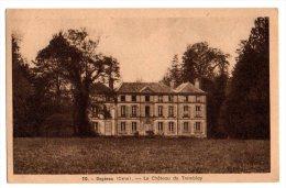 Cpa   Orgères   Le Chateau  Du Tremblay     BE - France