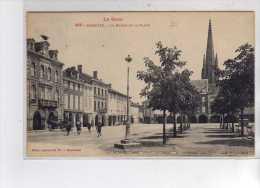 MARCIAC - La Mairie Et La Place - Très Bon état - Sonstige Gemeinden