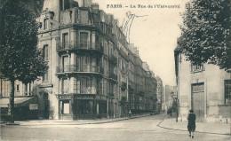 75 PARIS   - La Rue De L ´Université (  La Teinturerie ) - Distretto: 07