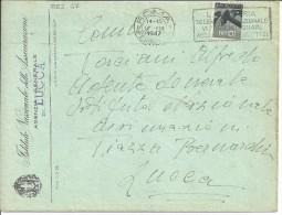 TARGHETTA PUBBLICITARIA LA LOTTERIA 1947 - 1946-60: Marcofilia