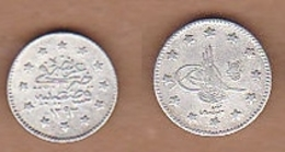 AC - OTTOMAN - TURKEY ABDULHAMID 1 KURUS 1293 - 22 SILVER COIN RARE TO FIND KM#718 - Turkey