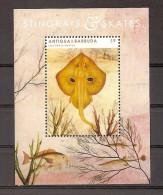 Antigua 2012, Block 701 Rochen Fische Postfrisch (mnh) - Antigua Und Barbuda (1981-...)