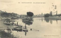 - Mayenne -ref -467- Chateau Gonthier -  Vue Generale Des Quais - Bateau - Bateaux - Carte Bon Etat - - Chateau Gontier