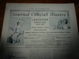 1896 N°44 JENS: Bateau-salon GENEVE Cie Gle Navigation Du Lac Léman;Serrurerie D'ART;COR Ou TROMPE De CHASSE;Chalamala - Journaux - Quotidiens