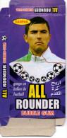 Box / Bubble Gum - Paquet - Antar Yahia Player Football Algeria - Old Paper