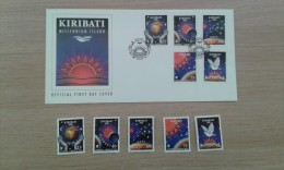 Timbre Kiribati ´Millennium Island´ 2000 - Kiribati (1979-...)
