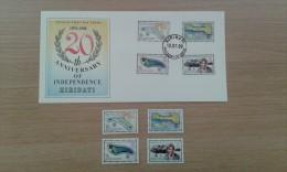 Timbre Kiribati '20th Anniversary Of Independence' 1999 - Kiribati (1979-...)