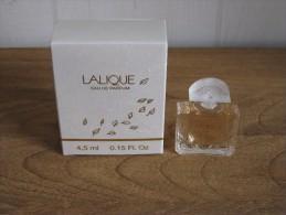 MINIATURE DE PARFUM LALIQUE DE LALIQUE  EAU DE PARFUM 4, 5ML. - Miniatures Modernes (à Partir De 1961)