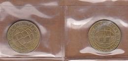 AC - LUCKY WINNER ONLY FOR AMUSEMENT TOKEN JETON - Souvenirmunten (elongated Coins)