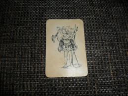 ANCIENNE CARTE A JOUER  / JOKER  / DOS PUB - Kartenspiele (traditionell)