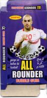 Box / Bubble Gum - Paquet - Aymen Abdennour Player Tunisia Football Fußball Soccer Voetbal Fútbol - Old Paper