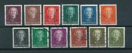 1950 Netherlands Antilles Complete Set Queen Juliana Used/gebruikt/oblitere - Curaçao, Antilles Neérlandaises, Aruba