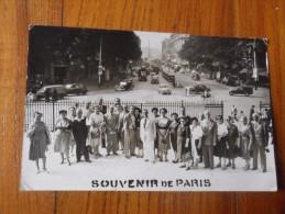 FOTO  SOUVENIR DE PARIS - Lieux