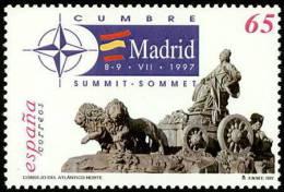 ESPAÑA 1997 - CUMBRE DE LA OTAN EN MADRID  - Edifil Nº 3496 - Yvert Nº 3072 - 1931-Hoy: 2ª República - ... Juan Carlos I