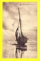 * Blankenberge - Blankenberghe (Kust - Littoral) * (Nels) Crépuscule, Bateau, Boat, Boot, Plage, Beach, Strand - Blankenberge