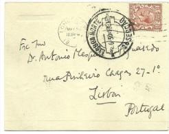 Postal Stationery - Kensington-Lisbon - 1930 - Stamped Stationery, Airletters & Aerogrammes