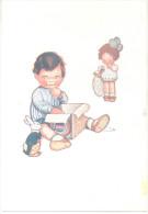 MAMITA VIERAS QUE RICO ES EL SACAROLAXANT PURGANTE IDEAL A BASE DE CACAO Y AZUCAR CARTE PUBLICITAIRE CIRCA 1935 RARE - Health