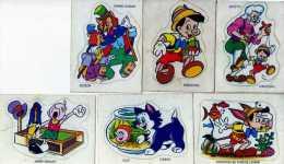 Pinocchio, Walt Disney Productions Fromageries BEL La Vache Qui Rit, Lot De 6  Auocollants - Autocollants