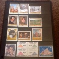 Mexico, Romania, Costa Rica - Stamps