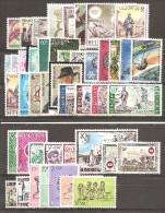 Année 1966**: 44 Valeurs + 3 Blocs. Neufs Sans Charnière. - Belgique