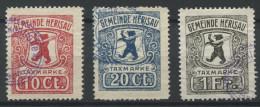 922 - HERISAU Fiskalmarken - Fiscaux