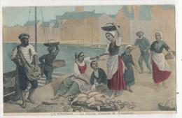 LE CROISIC La Pêche D'après M.Vasselon  Carte Dessinée - Le Croisic