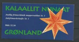 1996 MNH Greenland, Booklet Postfris. - Carnet