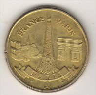SOUVENIRS & PATRIMOINE PARIS  FRANCE ,FRANCE PARIS MEDAL OR TOKEN - Monnaie De Paris