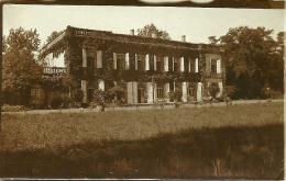 82 Photo 11 X 7 Cm  VERLHAGUET  Le Chateau  Photo Datée En 1927 - France
