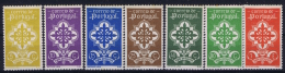 Portugal: Mi 606 - 613 MH/* Falz/ Charniere  1940