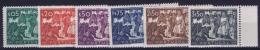 Portugal: Mi 714 - 719 MNH/**/postfrisch/neuf  1947 Sheetmargins