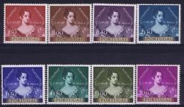 Portugal: Mi 815 - 822  E 786 - 793 MNH/**/postfrisch/neuf   1953
