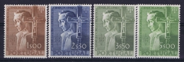 Portugal: Mi 831 - 834  E 802 - 805 MNH/**/postfrisch/neuf   1954
